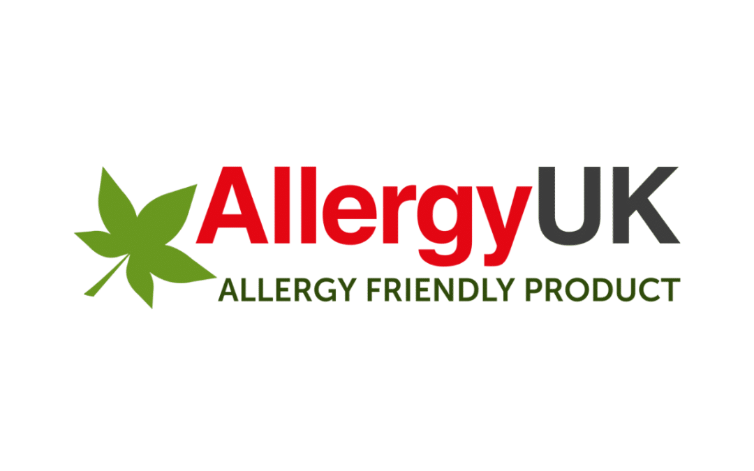 Allergy UK Endorses O2 Nose Filters with Allergy Friendly Product Award.